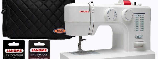 Достоинства и недостатки швейной машины Janome 5812
