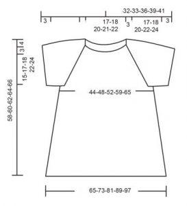 Вязаные спицами блузки от 42 до 62 размера - схемы пошагово