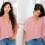 Выкройка шикарной блузки — как просто сшить своими руками!