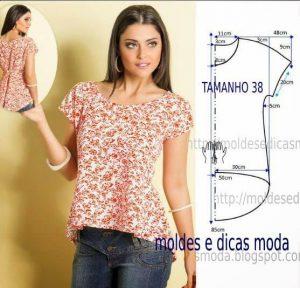 d3bbaf433a8 Выкройка шикарной блузки - как просто сшить своими руками!