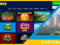 Как играть бесплатно в казино-онлайн Goldfishka?
