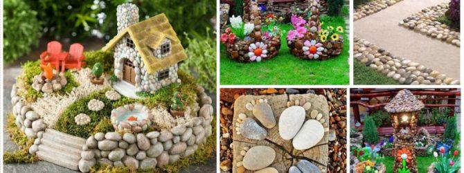 Оформление дачи своими руками: цветы и скульптуры