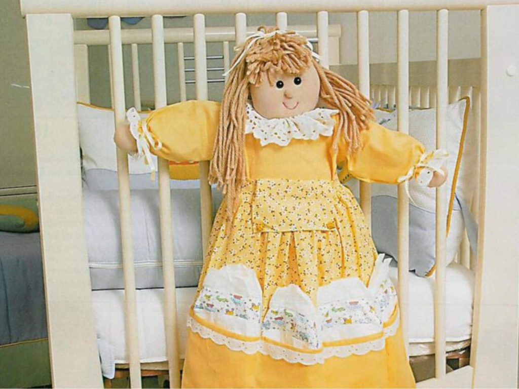 Органайзер на детскую кроватку своими руками - мастер класс для начинающих
