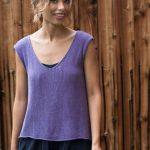 Ажурная женская футболка спицами - глаз не оторвать!