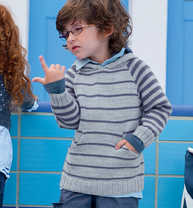 Футболка с капюшоном на мальчика - мастер-класс