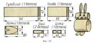 Игрушки из полосок бумаги