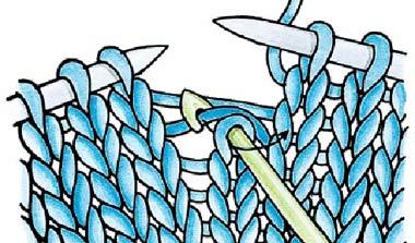 Как исправить пропущенные и спущенные петли