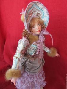 лепка кукол из полимерной глины
