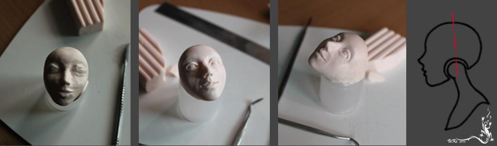 Кукла Принцесса из полимерной глины