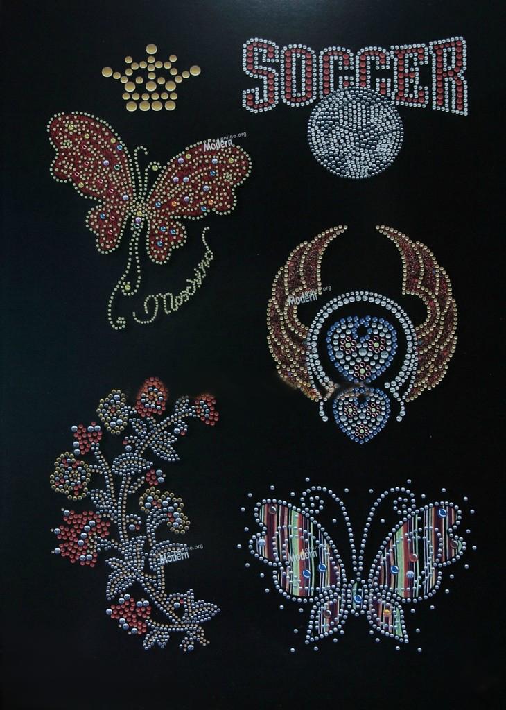 Схемы и рисунки брошей бисером