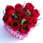 Виды букетов с розами