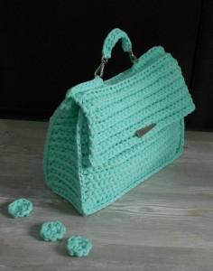 Виды сумок из пряжи-лапши