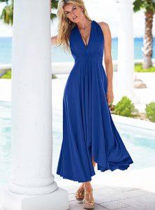 Длинные платья с юбкой солнце