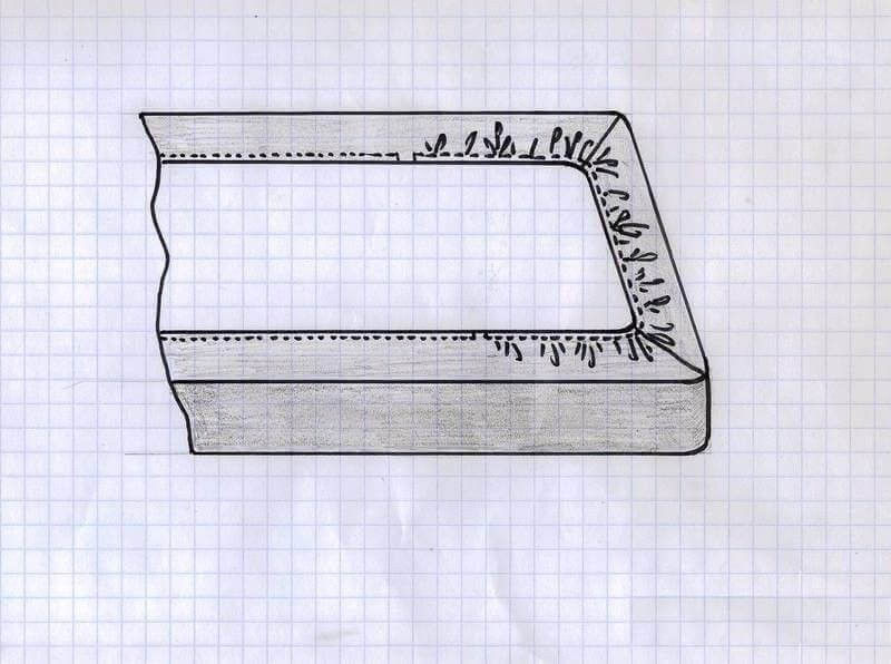 Чехол для матраса на резинке (мастер-класс)