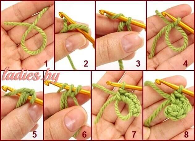 Как вязать кольцо амигуруми