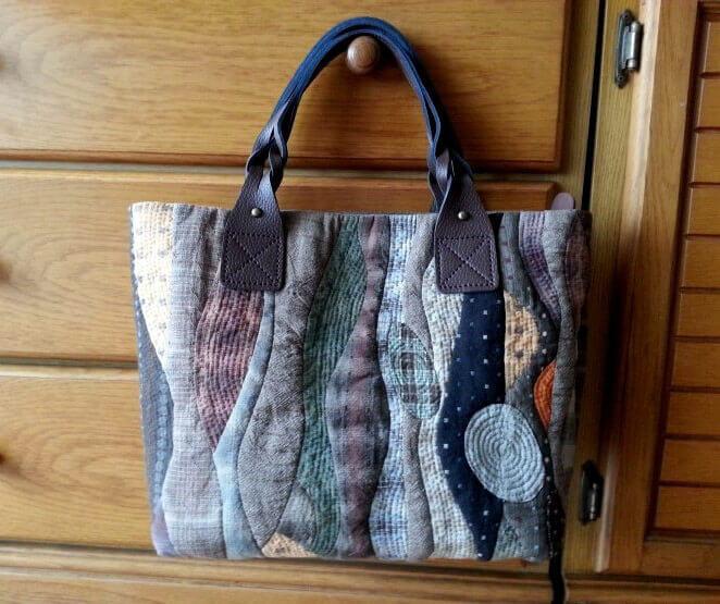 Потрясающая печворк-сумка на каждый день