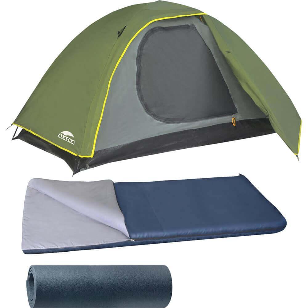 Условия, при которых можно воспользоваться только спальным мешком или палаткой