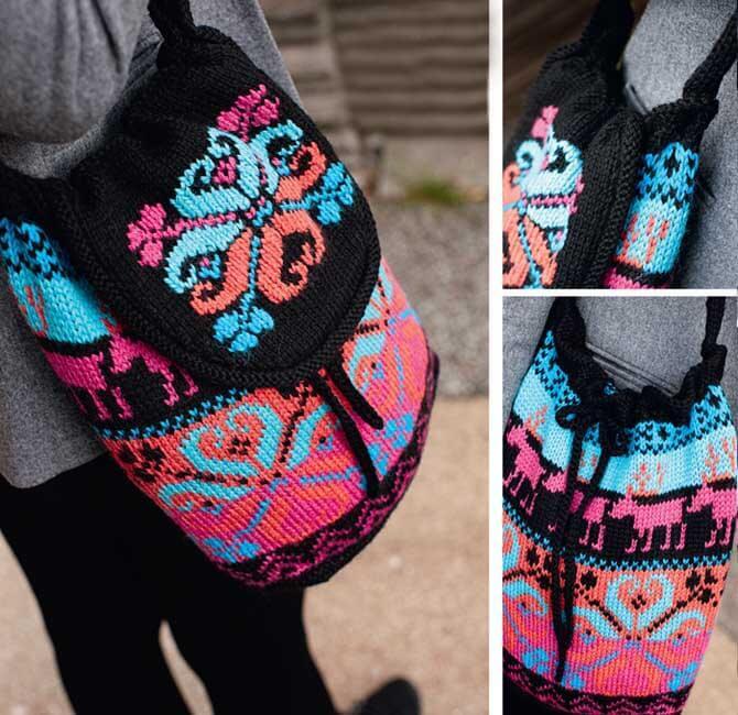Стильная сумка мочила