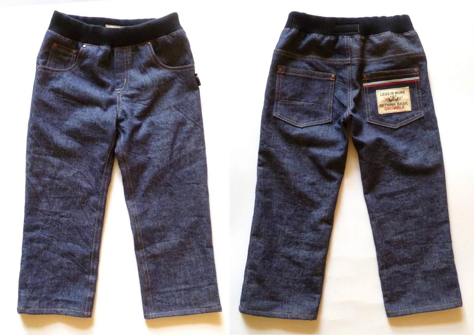Как пошить джинсы?
