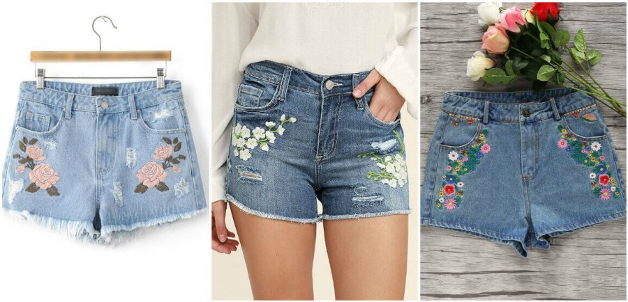 Как сделать из старых джинс модные шорты