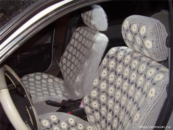 Чехлы для автомобиля своими руками