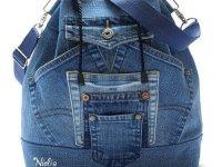 Рюкзак из старых джинсов – выкройки мастер-классы