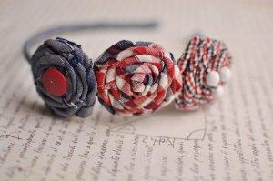 Ободки из цветов своими руками