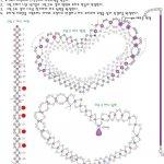 Колье, подвески и кулоны из бисера - схемы