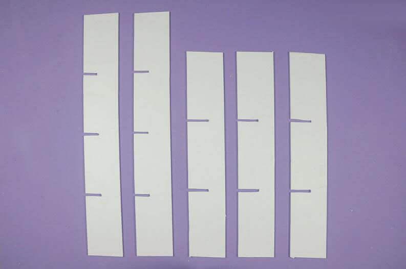 Органайзер для нижнего белья из картона - мк
