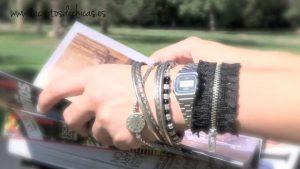 Идеи браслетов из молний