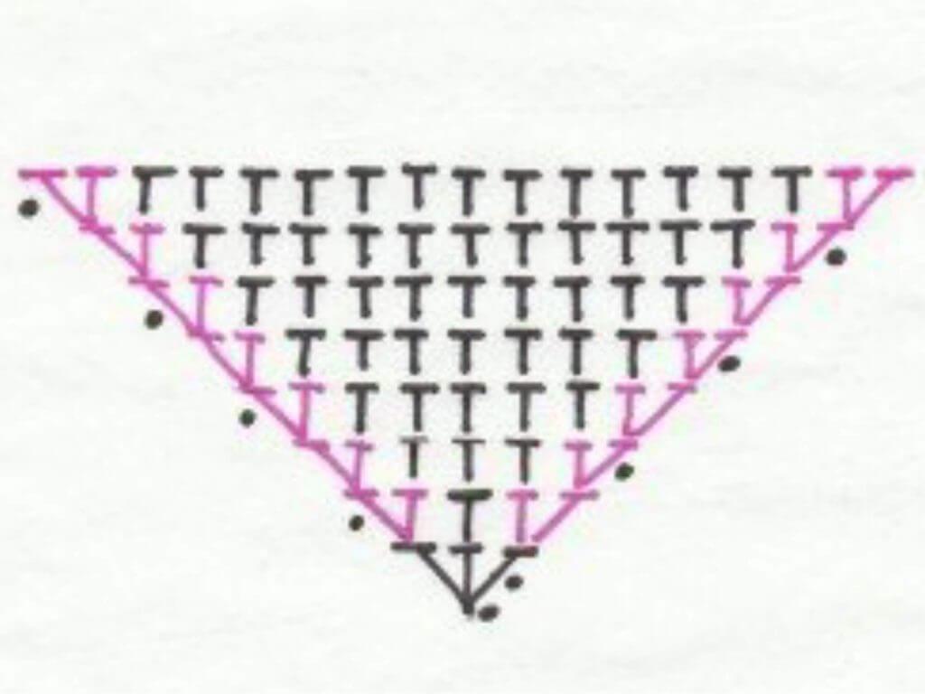 Как вязать ушки - вариант номер 2