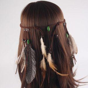 Повязка в индейском стиле