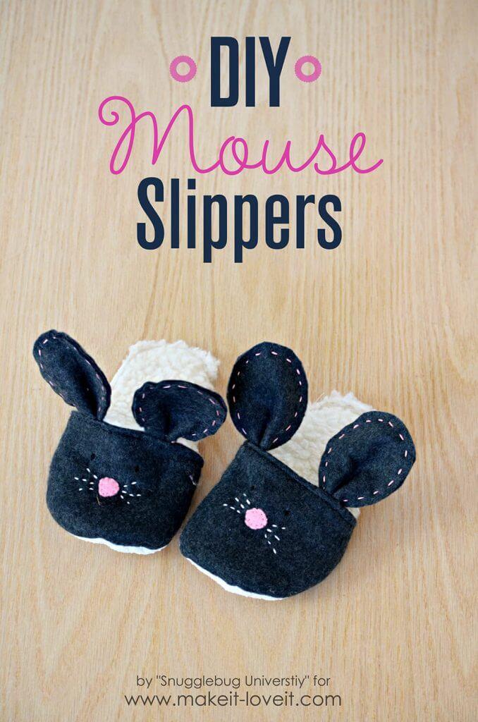 Тапочки Мышки