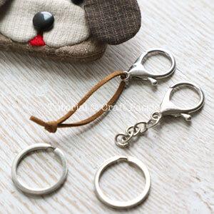 Собачка - ключница из ткани своими руками, выкройка и мастер-класс
