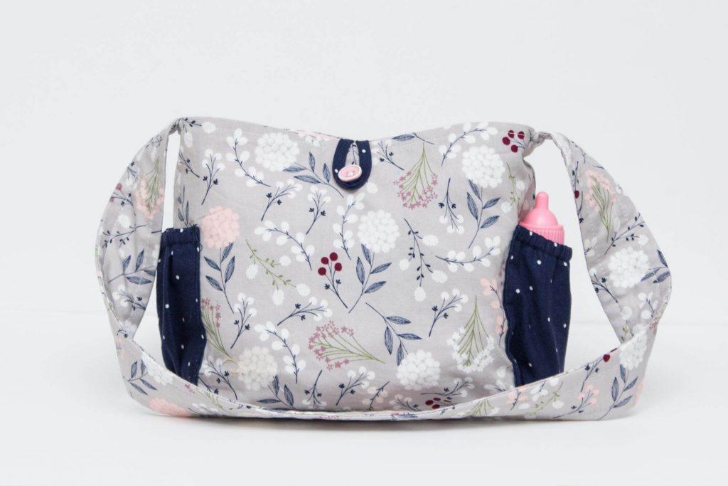 Детская сумочка для пикника с наружными карманами - мастер-класс