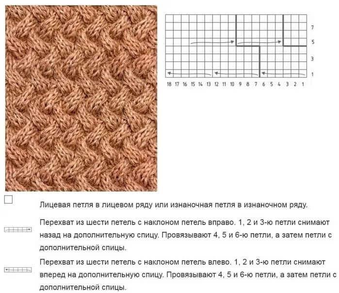 Повязка на голову спицами осень/зима 10 мк - схемы и описание