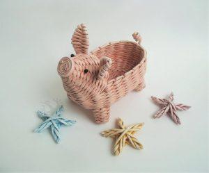 Идеи для плетения из бумаги к Новому Году