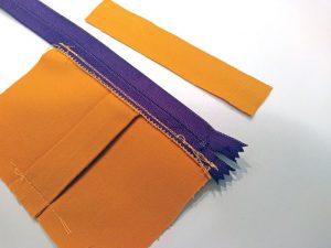 Выкройка сумки на пояс из кожи