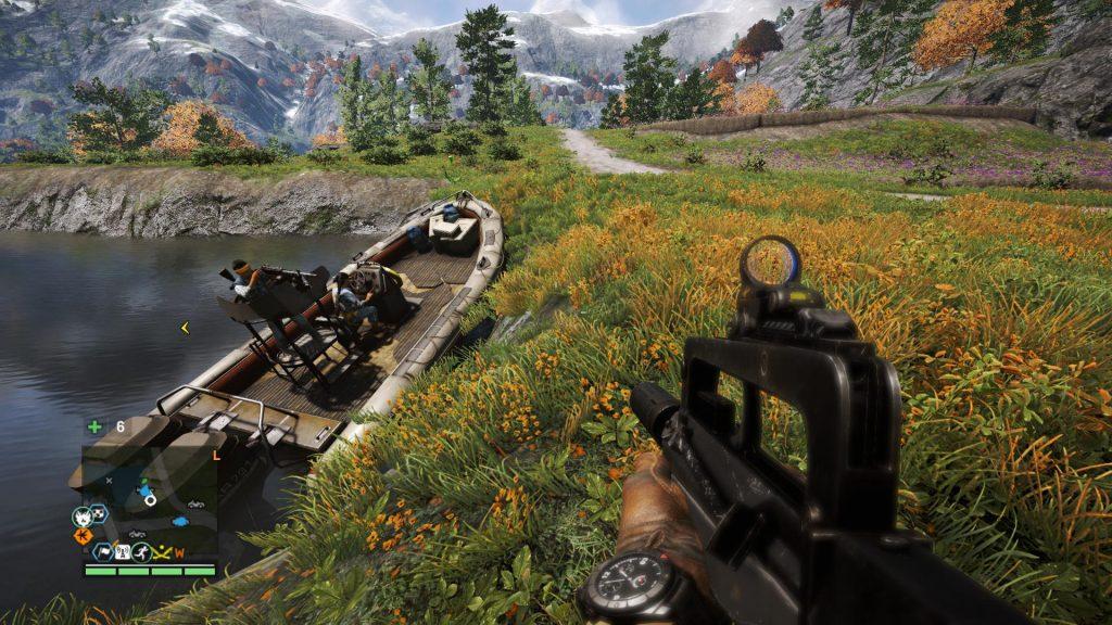 Far Cry 5 становится на новые рельсы