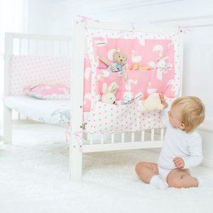 Какие бывают органайзеры на детскую кровать