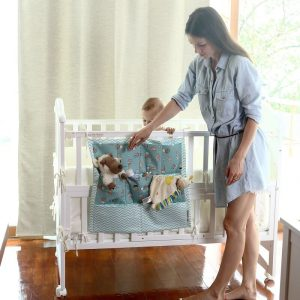 Органайзер на детскую кроватку своими руками — мастер-класс