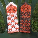 Вязание спицами для женщин - тёплые варежки на зависть всем
