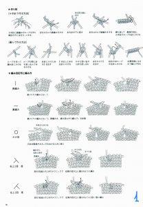 Кардиган без рукавов спицами - как вязать по японским схемам